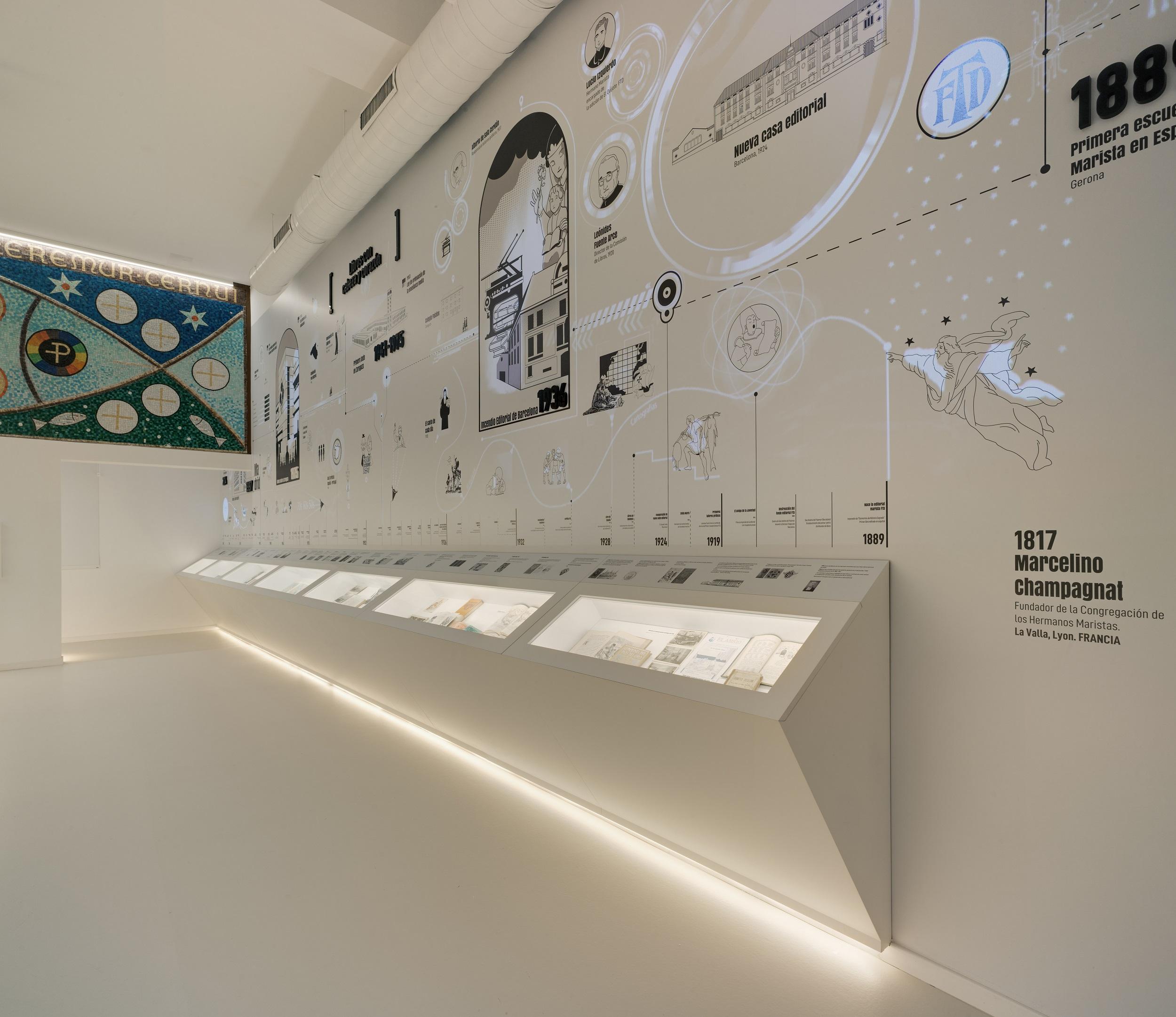 Nuevo Museo de la editorial Edelvivesen Zaragoza.